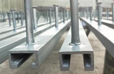 管廊支架的管墩预埋件